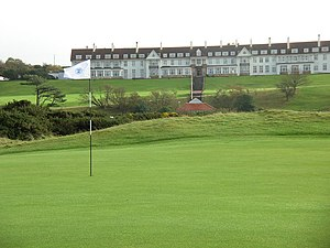 Turnberry (golf course) - Turnberry Hotel in November 2005