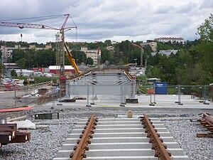 betongfundament för bro