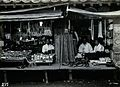 Two shops or market stalls, in Korea. Photograph, ca.1900. Wellcome V0048609.jpg