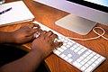 Typing On Apple Desktop Keyboard - 51328178723.jpg