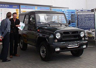 Ganja Auto Plant - Image: UAZ 315195 Hunter