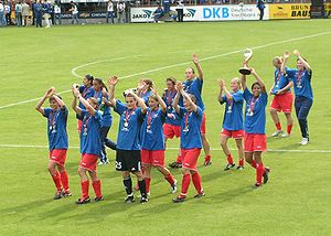 Women's association football - UEFA Women's Cup Final 2005 at Potsdam