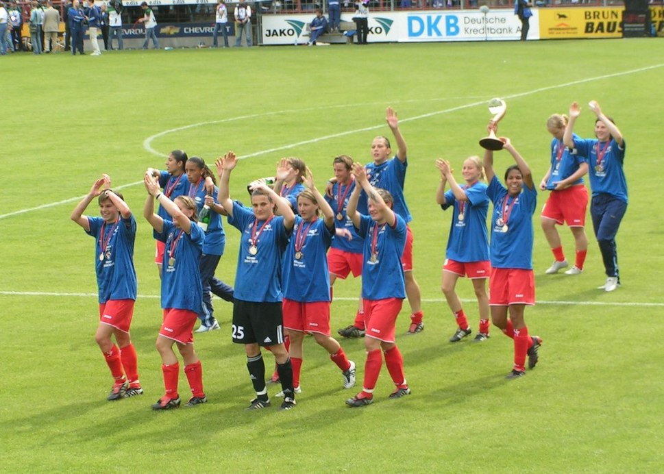 UEFA-Women's Cup Final 2005 at Potsdam 5