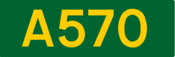 A570 road shield