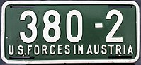 US-Forces-in-Austria USFA 1954-1955 license plate 380-2.jpg