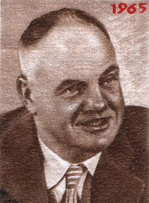 Maurice Thorez - A Soviet stamp depicting Maurice Thorez.