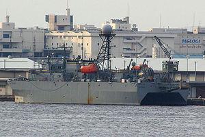 USNS Victorious in Yokohama, Japan