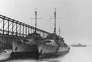 USS <i>Lorain</i> (PF-93) Tacoma-class frigate