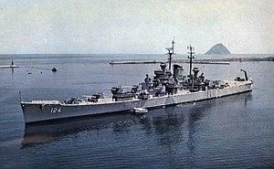 USS Rochester (CA-124) at anchor 1956.jpg
