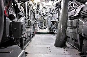USS Silversides (SS-236) - Image: USS Silversides Interior 2017 (36913783361)