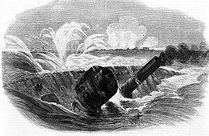 USS Tecumseh (1863) - Image: USS Tecumseh (1863)