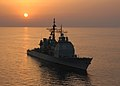 USS Vicksburg (CG 69) sunset 2004.jpg