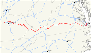US Route Wikiwand - Us 460 map