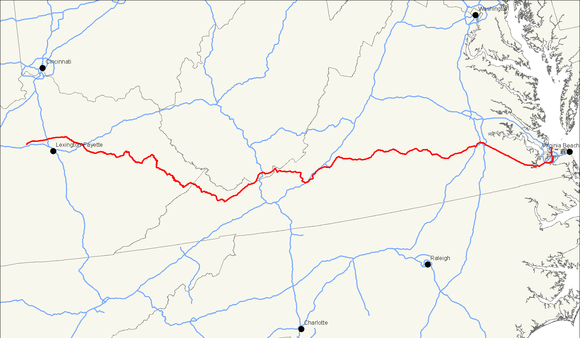 U.S. Route 460 - Wikiwand