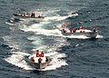 US Navy 020828-N-8935H-005 Deck Department Sailors from aboard USS Blue Ridge (LCC 19) steer a 'breakaway course' during small boat operations off the coast of the Republic of Korea.jpg