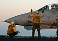 US Navy 031122-N-7408M-005 An Aircraft Handler directs an F-14A Tomcat.jpg