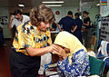 US Navy 050314-N-6665R-023 An elderly Indonesian patient shows her sincere appreciation to a.jpg