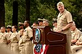 US Navy 080916-N-8273J-053 Chief of Naval Operations (CNO) Adm. Gary Roughead speaks during a chief petty officers pinning ceremony at Admiral Leutze Park at the Washington Navy Yard.jpg