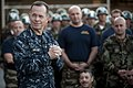 US Navy 100304-N-0696M-196 Chairman of the Joint Chiefs of Staff Adm. Mike Mullen addresses Sailors assigned to Naval Special Warfare Group 1.jpg