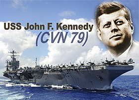image illustrative de l'article USS John F. Kennedy (CVN-79)