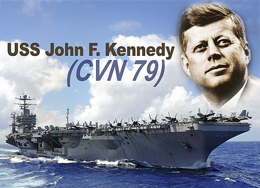 US Navy 110527-N-DX698-001 A photo illustration of the Ford-class aircraft carrier depicting the future USS John F. Kennedy (CVN 79)