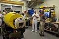 US Navy 110610-N-ZB612-338 Chief of Naval Operations (CNO) Adm. Gary Roughead tours the facilities at the Woods Hole Oceanographic Institute.jpg