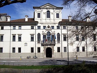 Province of Udine - Palazzo Belgrado, the provincial seat.