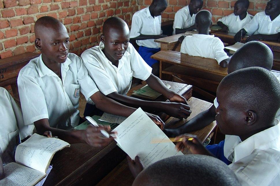 Uganda students