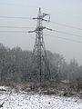 Ukraine Irpen 2010. First snow. Near the railway bridge.jpg