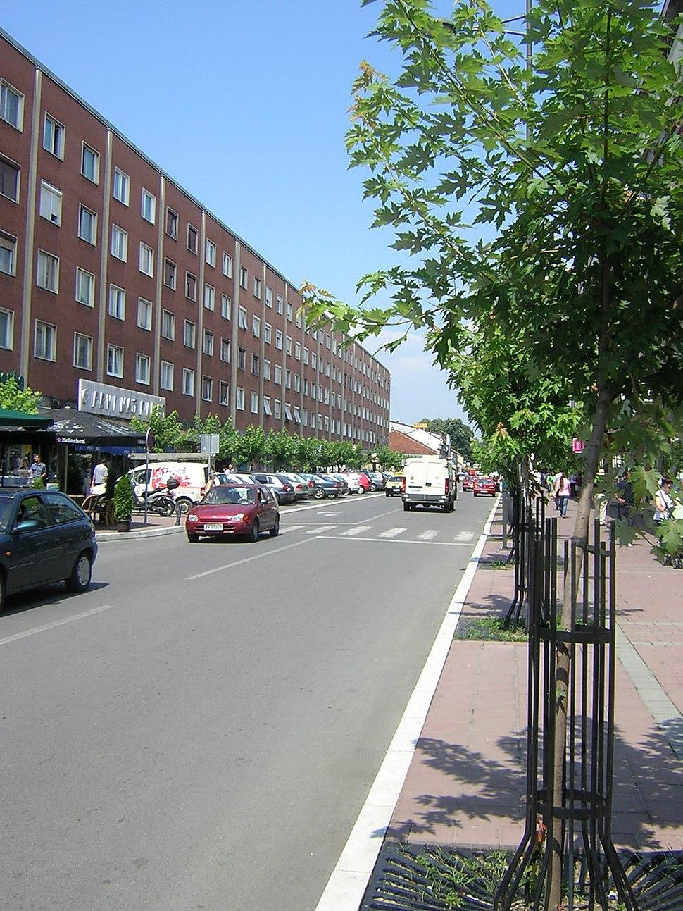 Ulica Miloša Velikog u Kraljevu