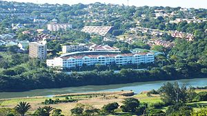 Durban North - Umgeni Park on the north bank of the Umgeni River's Blue Lagoon