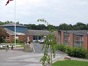 Skåde - Image: Unge hjems efterskole