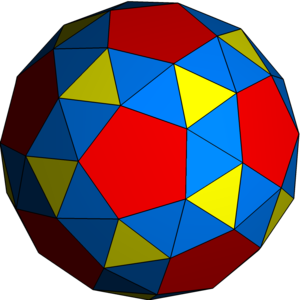 Snub (geometry) - Image: Uniform polyhedron 53 s 012