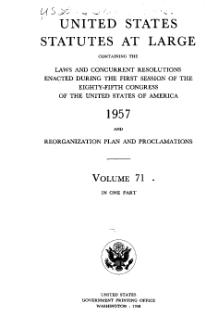United States Statutes at Large Volume 71.djvu
