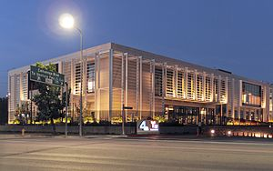 KNBC - The Brokaw News Center, new location at the Universal lot, 2015