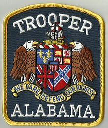 Alabama Troopers Arm Patch