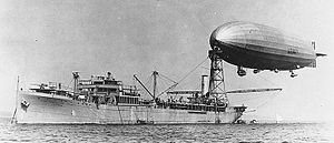 USS Shenandoah moored to the USS Patoka (AO-9)