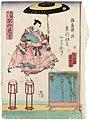 Utagawa Kunisada II - Acrobat Hayatake Torakichi from Osaka.jpg