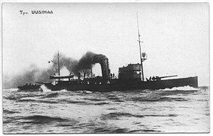 Finnish gunboat Hämeenmaa - The sister ship Uusimaa
