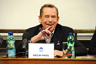 Václav Havel - Freedom and its adversaries conference.jpg