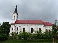Vítonice (KM), kostel z boku.JPG
