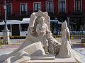 Valladolid esculturas arena Cervantes 03 ni.jpg