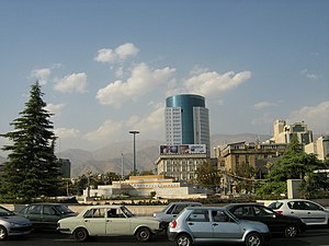 Vanak - Vanak square in Tehran