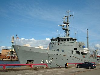 Latvian Naval Forces - Image: Varonis