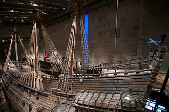 Vasa (ship) - Vasa's port side