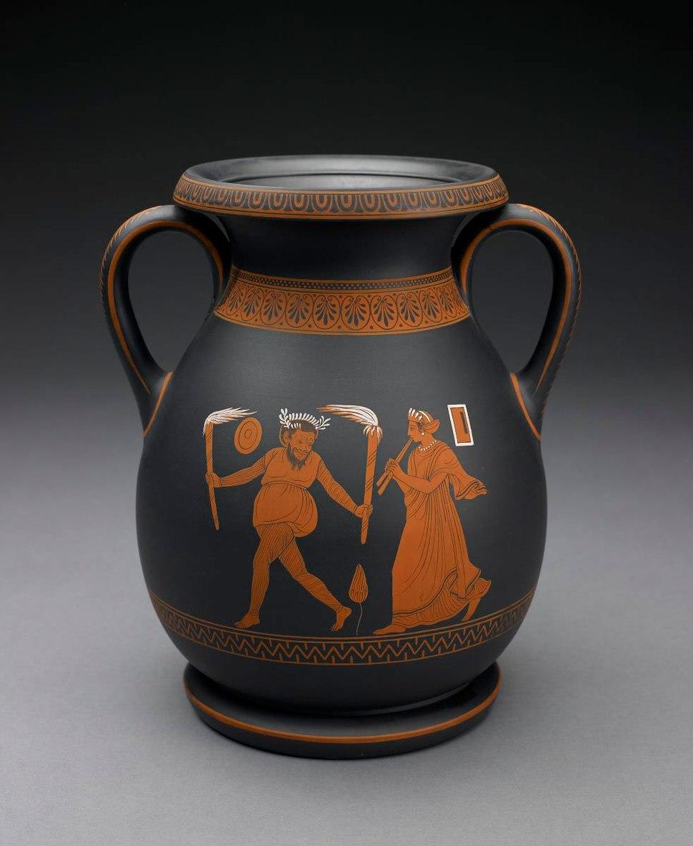 Vase-BlackBasalt-Wedgwood-BMA