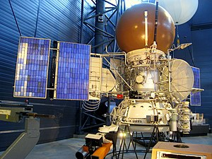 Vega program - Vega solar system probe bus and landing apparatus (model)