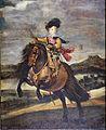 Velázquez, Diego Rodríguez de Silva y - The Infante Baltasar Carlos on Horseback - Google Art Project.jpg