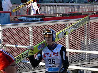 Finnish ski jumper