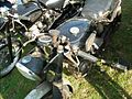 Velocettes waiting for restoration - Mortons Eurojumble - 8 Sept 2012.jpg